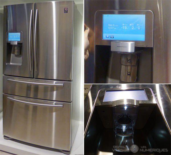 Samsung frigo connecte p