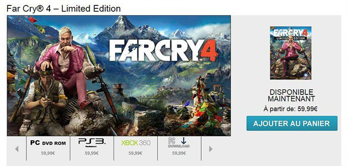 Far Cry 4 UPlay 700px