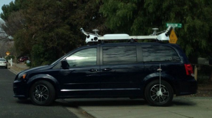 Apple Aux Commandes D Un Vehicule Autonome Facon Google Street View