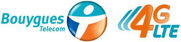 Bouygues telecom 4g logo