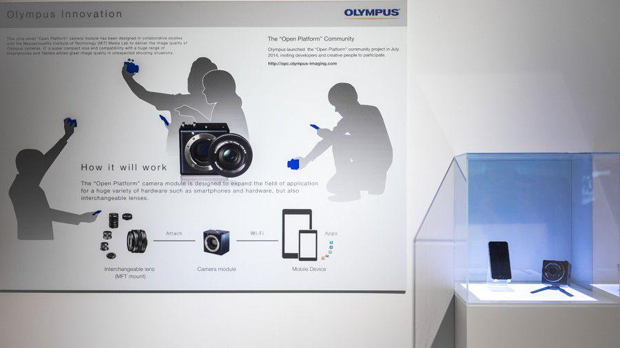 Olympus OpenPlatform Photokina
