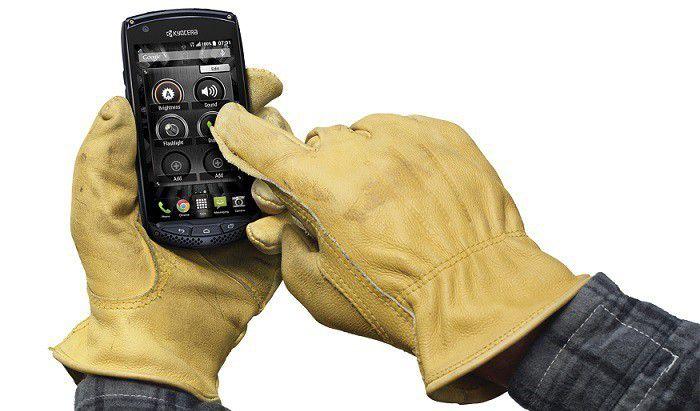 Kyocera Torque gants(1)