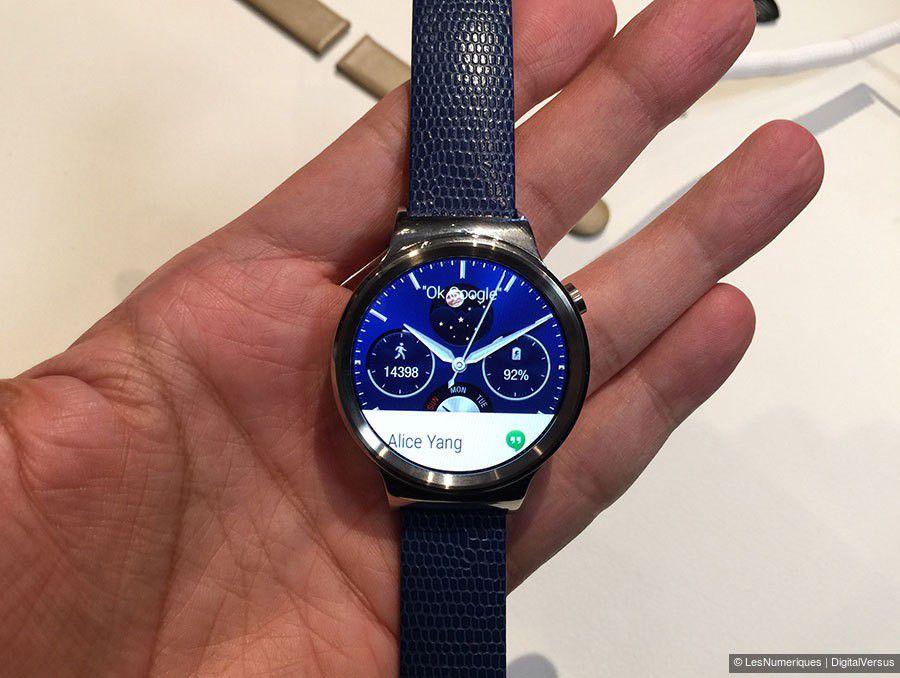 prise en main Huawei Watch