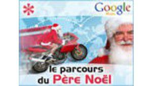 Où passe le Père Noël ? Sur Tom's Guide via Google Maps