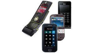 Comparatif : 6 téléphones HTC, LG, Motorola, Palm, Samsung