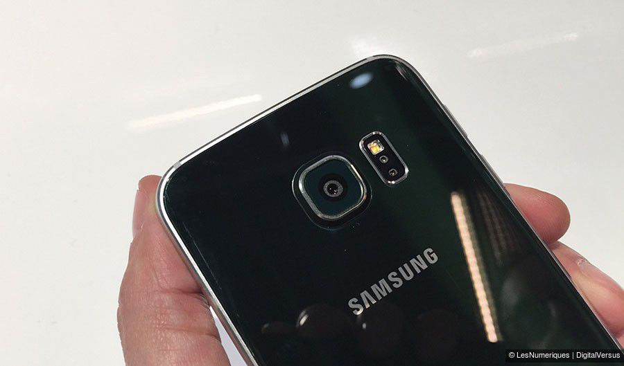Prise en main du Samsung Galaxy S6 edge