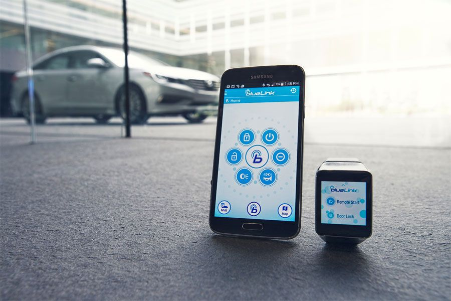 Blue Link Smartwatch2