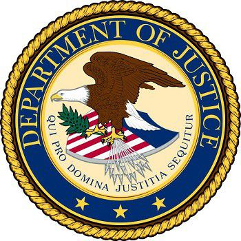 Seal of the United States Department of Justice svg