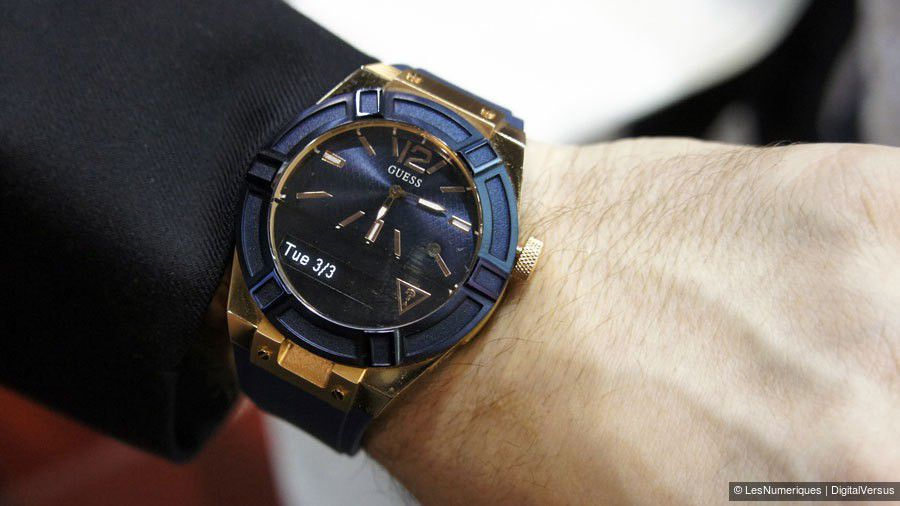 MWC 2015 – Guess Connect, la montre bijou connectée