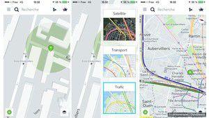 Nokia Here déboule sur iOS