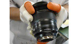 Ligne d'assemblage d'optiques photo: visite guidée