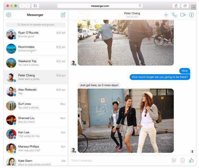 Messenger Client Web