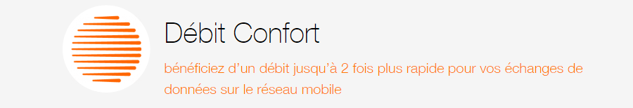 Orange debit confort