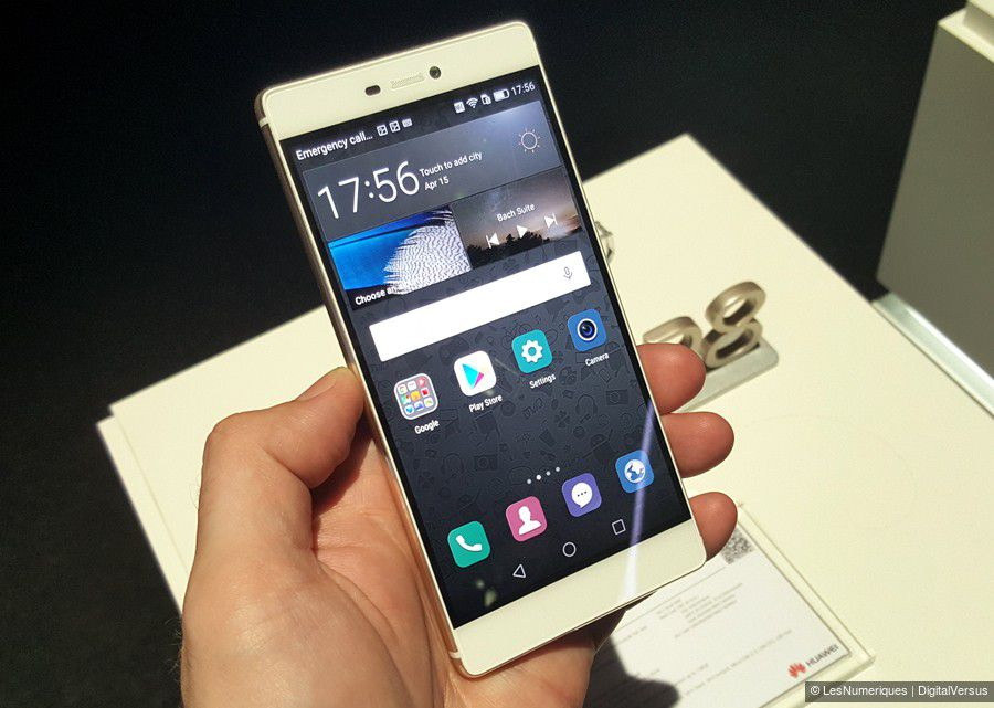 Huawei ascend p8 face