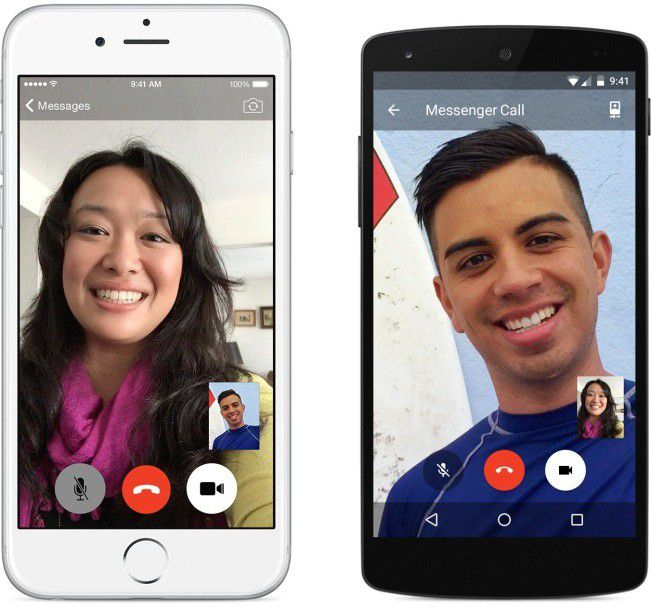 Messenger video call2