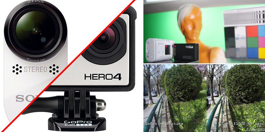 Gopro vs sony