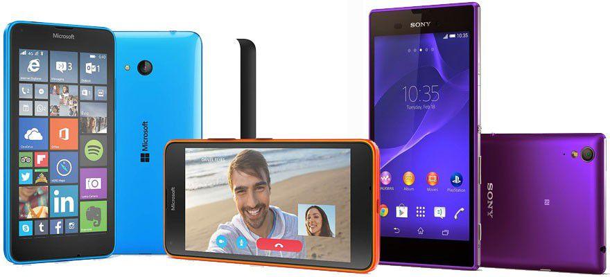 Smartphone 200 euros avril 2015