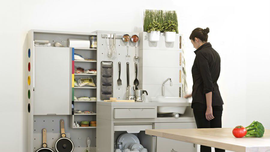 Ikea Concept Kitchen evier recyclageEau