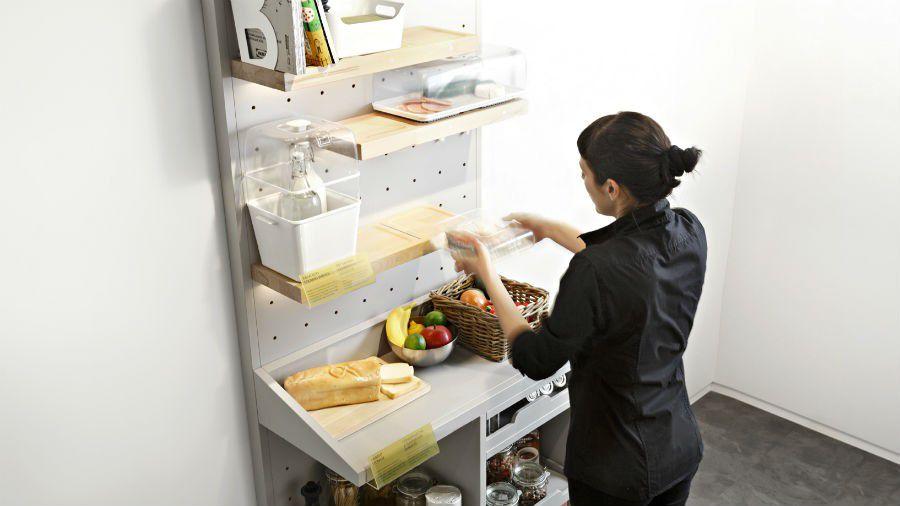 Ikea Concept Kitchen garde manger