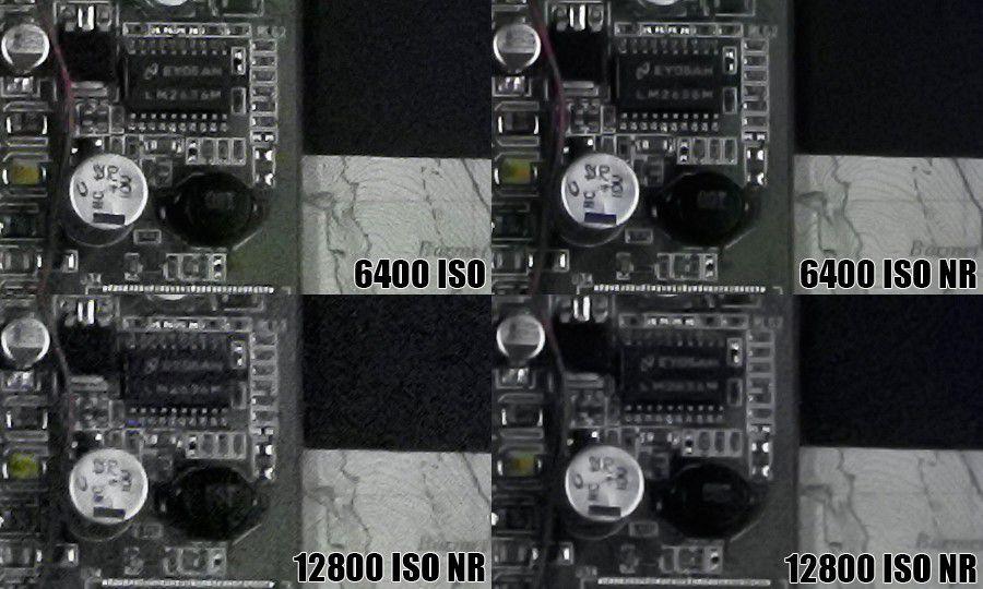 Nikon1 j5 iso nr