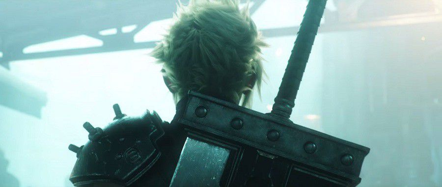 FF VII (FF7) HD PS4, image extraite du trailer