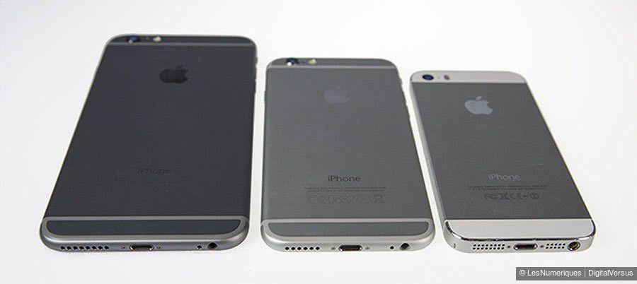 Trio iphone dos bandes plastiques