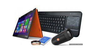 7 jours de tests : Logitech K400 Plus, Jawbone UP3, JBL Charge 2+