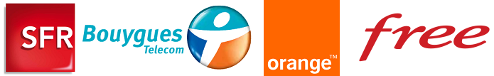 Numericable SFR Bouygues Orange Free%20logo