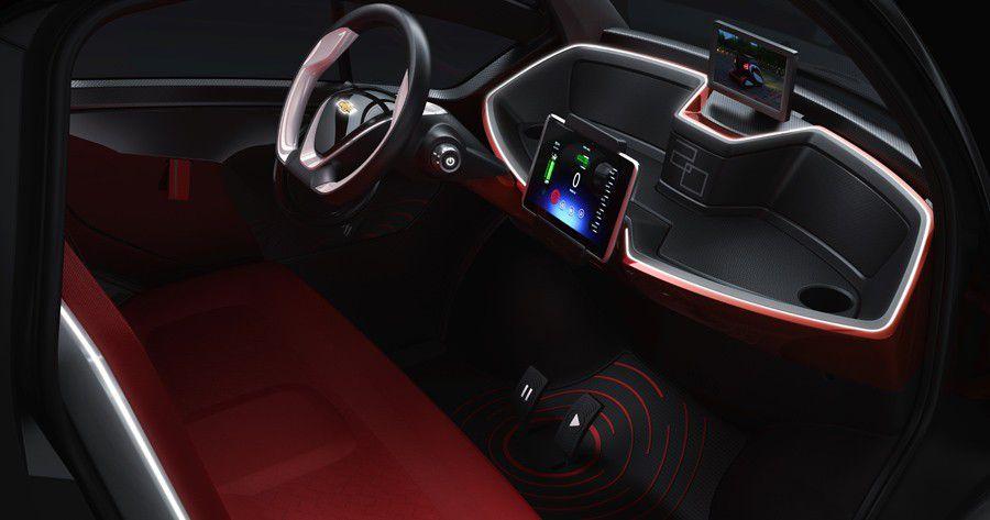 GM China, futur habitacle de véhicule connecté, visualisation constructeur