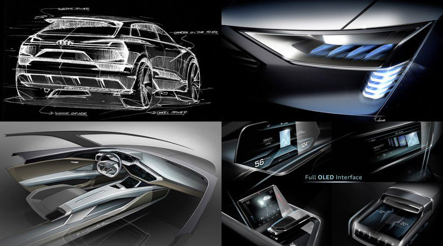 Audi Q6 Quattro e-tron, visuel constructeur