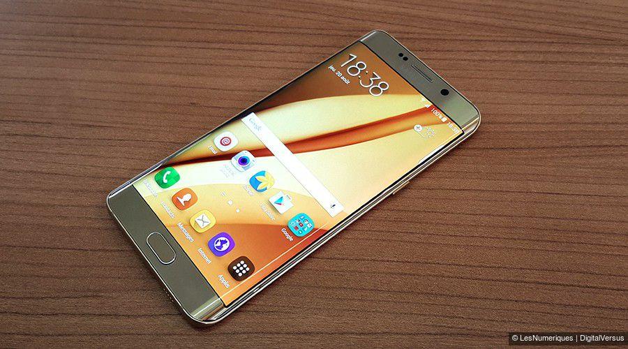 Samsung gs6 edge plus ecran face