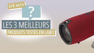 Labo: les 3 meilleurs produits testés cet été sont...