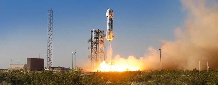 Blueorigin launch