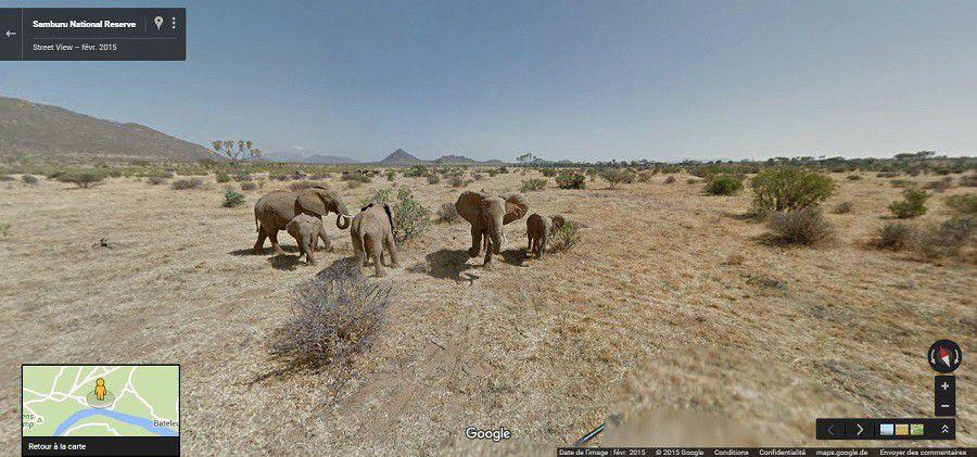 Street View Samburu Kenya