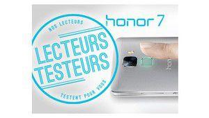 Lecteurs-testeurs Honor 7: l'appareil photo