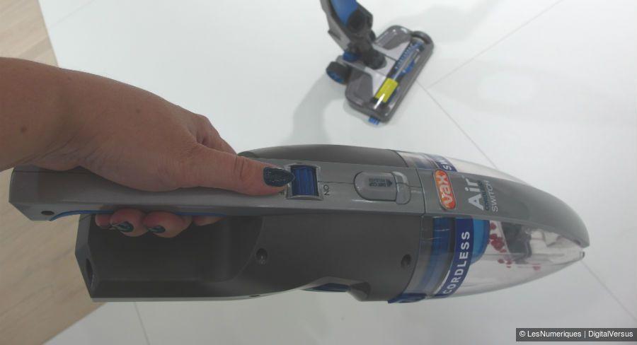 Vax cordless switch aspirette