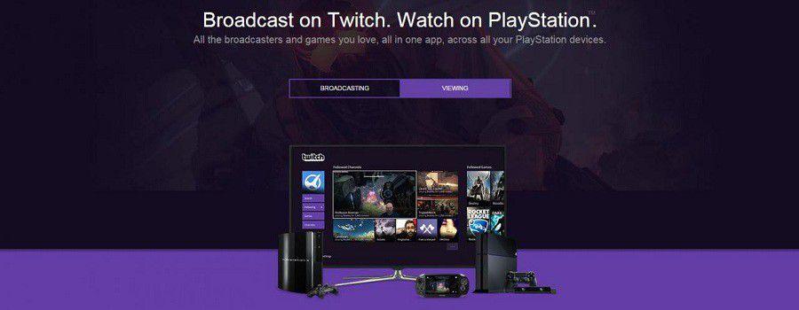 Twitch sur PS4