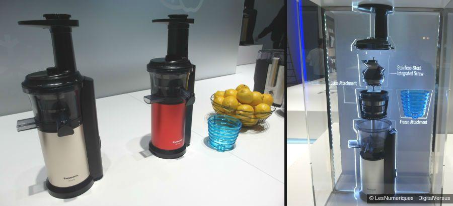 Panasonic slow juicer demontage