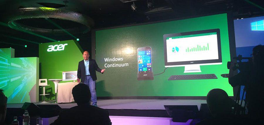 Acer primo jade presentation continuum