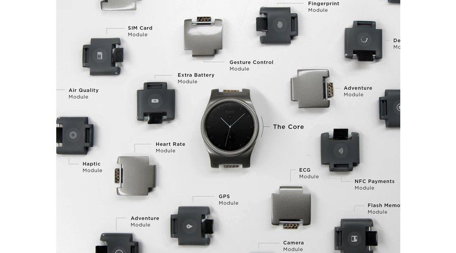 Blocks smartwatch modules