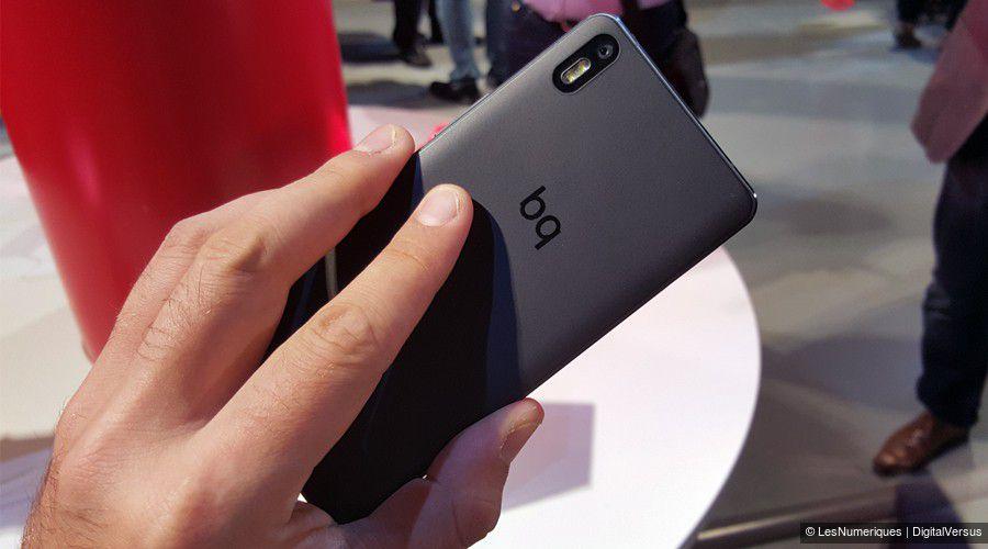 Aquaris X5 et M10 : bq revient avec un smartphone et une