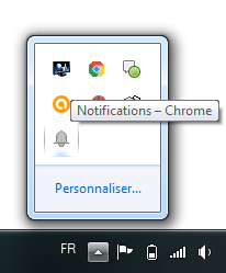 Chrome Centre notif