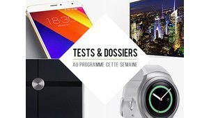 7 jours de tests : TV Oled Panasonic, Samsung Gear S2, Meizu MX5