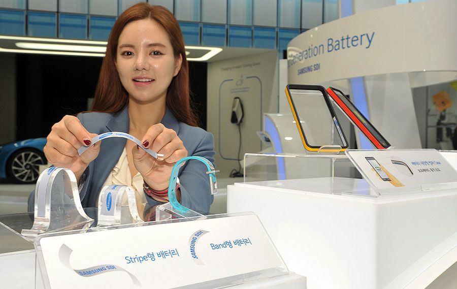 Samsung sdi stripe band battery objets montres connectes