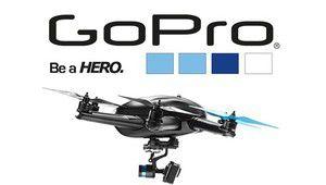 Une première vidéo réalisée avec le drone GoPro