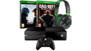 Bon plan – Xbox One + CoD Black Ops III + Halo 5 + casque : 369 €