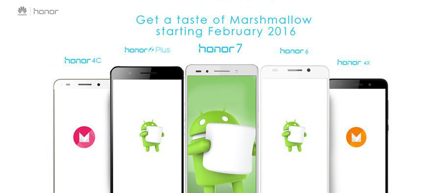 Honor mise a jour android 6 marshmallow