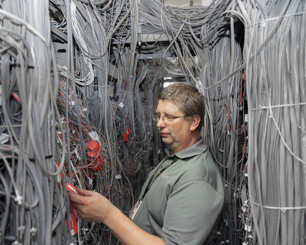 Wired datacenter