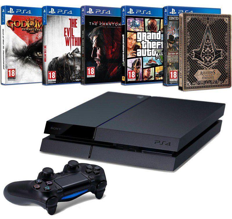 PS4 5jeux
