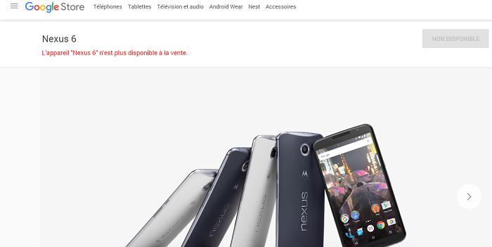 Nexus 6 plus dispo